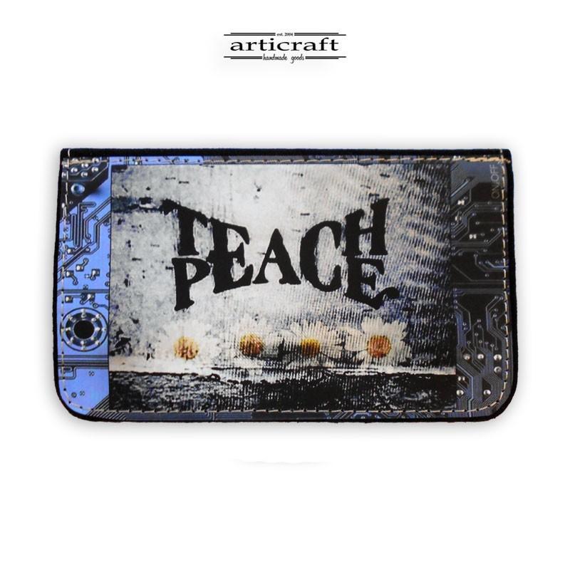 """Καπνοθήκη """"Teach Peace"""" (Α369)"""