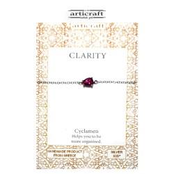 Silver bracelet Clarity (Ε095)