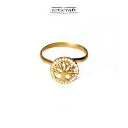 Ασημένιο δαχτυλίδι Δέντρο Ζωής (Ε158)