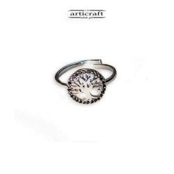 Ασημένιο δαχτυλίδι Δέντρο Ζωής (Ε159)