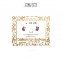 Silver earrings Virtue (Ε169)