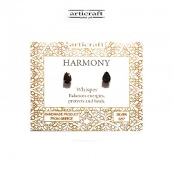 Silver earrings Harmony (Ε179)