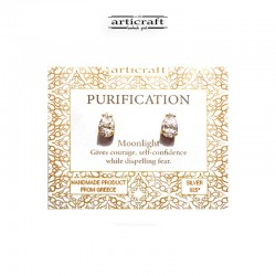Ασημένια σκουλαρίκια Purification (Ε182)