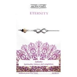 Silver bracelet Eternity...