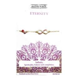 Βραχιόλι ασημένιο Eternity (Ε188)