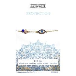 Silver bracelet Protection...