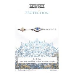 Βραχιόλι ασημένιο Protection (Ε190)