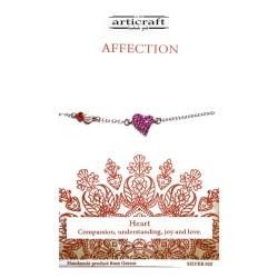 Silver bracelet Affection...