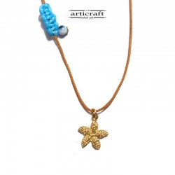 Silver necklace Starfish...