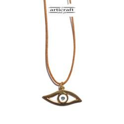 Silver necklace Eye (Ε223)