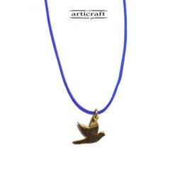 Silver necklace Bird (Ε225)