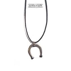 Silver necklace Horseshoe...