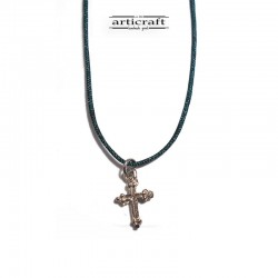 Silver necklace Cross (Ε229)