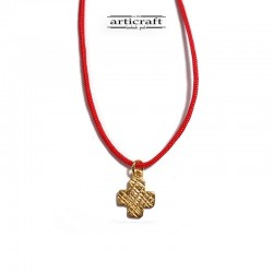 Silver necklace Cross (Ε230)