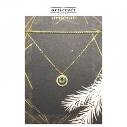 Silver necklace circles (Ε247)