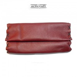 Leather tobacco pouch...
