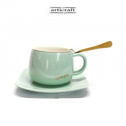 Ceramic Cup with spoon and...