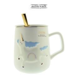 Cup blue unicorn (G010)