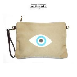 Canvas bag, eye (G014)
