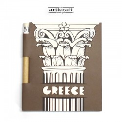 Notebook with pencil...
