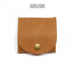Leather coin wallet (Α823)