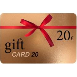 Δωροκάρτα Gift Card 20