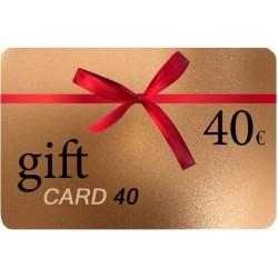 Δωροκάρτα Gift Card 40