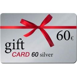 Δωροκάρτα Gift Card 60 Silver