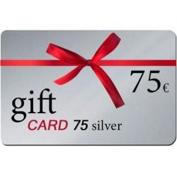 Δωροκάρτα Gift Card 75 silver