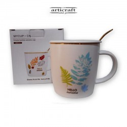 Cup with plants (G012)