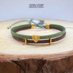 Double Leather Bracelet...