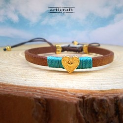 Handmade Leather Bracelet...