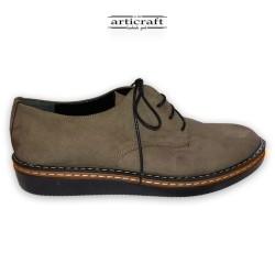 Δετό δερμάτινο παπούτσι πούρο (K036)