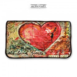 """Tobacco pouch """"Heart"""" (Α939)"""