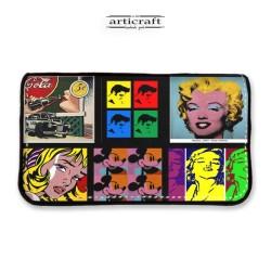 """Tobacco pouch """"Pop art"""" (Α940)"""