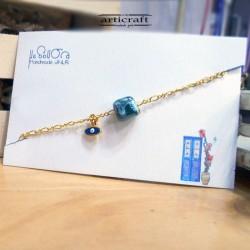 Handmade bracelet cube(Ε266)