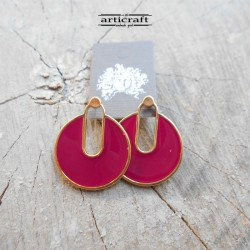 Handmade Earings red (E275)