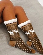 Κάλτσες με γούνα